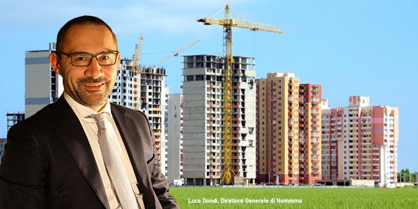 L'immobiliare non si riprende. L'allarme di Dondi (Nomisma) OF OSSERVATORIO FINANZIARIO