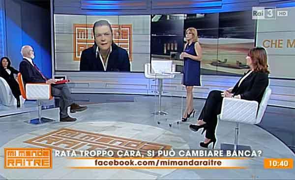 Il mutuo ritorna in tv OF OSSERVATORIO FINANZIARIO