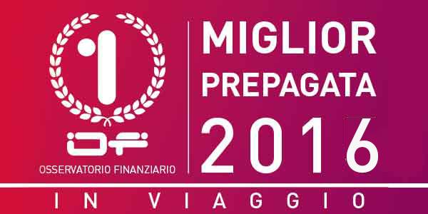 Of-Miglior Prepagata per i viaggi 2016. La vincitrice è… OF OSSERVATORIO FINANZIARIO